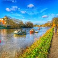 River Thames At Richmond In UK Stock Images - 65821124