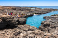 Buracona  In Sal Island Cape Verde - Cabo Verde Royalty Free Stock Photography - 65865247
