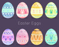 Easter Eggs Stock Images - 65868664