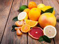 Fresh Citrus Fruits Stock Photo - 65870140