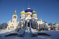 Russia. Moscow Region. Peredelkino. Temple Of The Holy Great Prince Igor Of Chernigov Royalty Free Stock Photo - 65880565