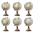 Old Style World Globes Royalty Free Stock Photography - 65890187