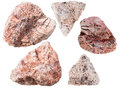 Pink Granitic Gneiss Rock And Granite Stones Royalty Free Stock Photos - 65928848