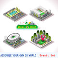 Game Set 08 Building Isometric Stock Photo - 65959310