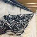Japan Bike Parking Lot Royalty Free Stock Photo - 65962335