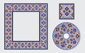 Set Of Ethnic Ornament Pattern Brushes Royalty Free Stock Photos - 65964578