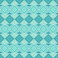 Seamless Teal And Green Geometric Wallpaper. Royalty Free Stock Images - 65974279