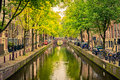 Canal In Amsterdam Royalty Free Stock Photography - 65975337