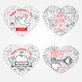 Happy Valentine S Day Greetings Card, Labels, Badges, Symbols, I Stock Images - 65983654