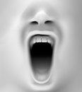 Mouth Screaming Royalty Free Stock Photos - 66009568