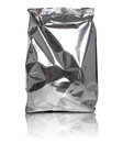 Foil Package Bag Royalty Free Stock Photo - 66024335