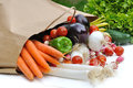 Fresh Vegetables  On A Bag Royalty Free Stock Photo - 66075185