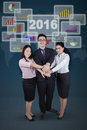 Business Team And Financial Graph Showing Unity Stock Images - 66088184