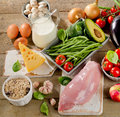 Balanced Diet, Cooking And Organic Food Concept Stock Images - 66122284