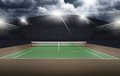 Empty Tennis Court, Sport Concept Stock Images - 66141894