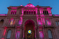 The Casa Rosada (The Pink House) Stock Image - 66147841