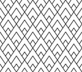 Vector Modern Seamless Geometry Pattern Triangle, Black And White Abstract Stock Photography - 66153372