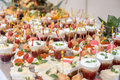 Colorful Wedding Table With All The Goodies On Display Stock Photography - 66159172