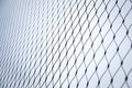 Steel Chain Link Fence Background Texture Stock Image - 66188141
