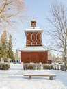 Church Building In Nordmaling, Sweden Stock Photos - 66219393
