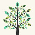 Tree Of Money, Wealth And Success Royalty Free Stock Photography - 66232417