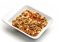 Mixed Dried Shelled Fruit And Dried Tomatoes Royalty Free Stock Image - 66246206