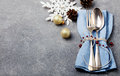 Christmas And New Year Holiday Table Setting Celebration Copy Space Royalty Free Stock Photos - 66258138