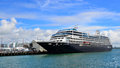 Cruises Ship Mooring In Ports Of Auckland Stock Image - 66271701