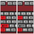 Combination Button Keyboard, Page Next And Back Royalty Free Stock Photo - 66296195