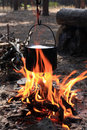 Kettle On Fire Stock Photography - 6631202