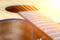Close-up Acoustic Guitar Stock Photo - 66331110