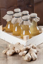 Ginger Syrup Stock Photography - 66346702