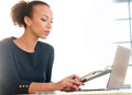 Woman At Work Royalty Free Stock Photography - 66360997