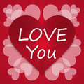 Valentines Day Vintage Letter Background Love Heart Royalty Free Stock Photos - 66388628