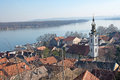 Roofs Of The Old Quarter Gardos And River Danube, Zemun, Serbia Royalty Free Stock Photos - 66402488