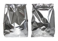 Set Of Foil Package Bag Isolated On White Royalty Free Stock Photos - 66429578
