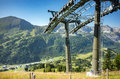 Ski Station In Summer Royalty Free Stock Photo - 66442265