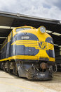 Heritage Locomotive In The Railway Museum In Melbourne Royalty Free Stock Photography - 66443397