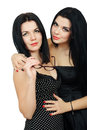 Two Hot Sexy Brunette Royalty Free Stock Images - 66476299