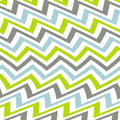 Wavy Green Grey And Blue Chevron Pattern Royalty Free Stock Images - 66494859