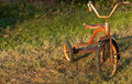 Child S Vintage Tricycle Stock Photo - 66495080