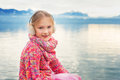 Portrait Of A Cute Little Girl Stock Photography - 66502762