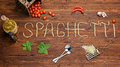 Word Made Of Spaghetti Pasta Stock Photography - 66504772