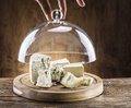 Variety Of Cheeses. Vintage Stiles. Royalty Free Stock Photo - 66516945