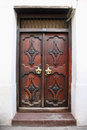 Old Wooden Door At Stone Town Royalty Free Stock Photo - 66534205