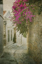 Old Street In Rhodes Royalty Free Stock Photography - 66558237