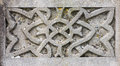 Celtic Design Detail On Gravestone Royalty Free Stock Photos - 66565258