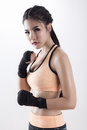Boxing Woman Royalty Free Stock Photos - 66597268