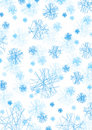 Conceptual Snow Flakes Stock Photo - 6665020