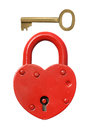 Padlock And Key. Stock Image - 66618321
